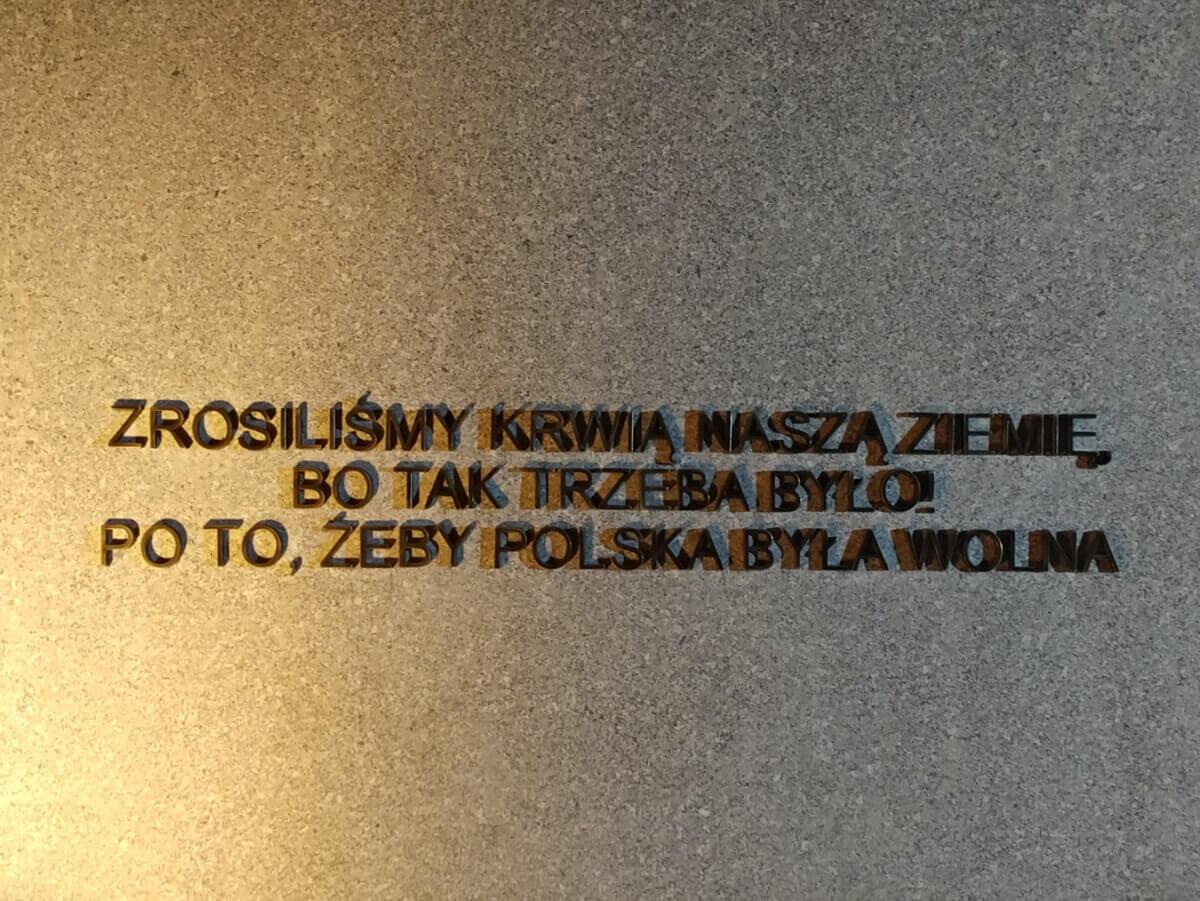 Metalowe litery - wykonawca Artforma